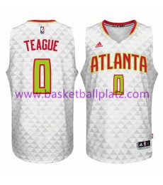 Atlanta Hawks Trikot Herren 15-16 Jeff Teague 0# Home Basketball Trikot Swingman..